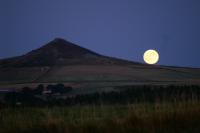lever de Lune sur...